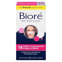 Biore Deep Cleansing Pore Strips - Nose - 14 Count