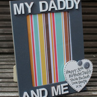Grandad and Me wooden Photo Frame a Personalised message can be added