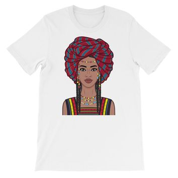 Bella Headwrap Short-Sleeve Women's T-Shirt