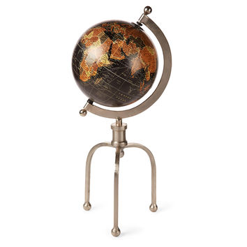 """21"""" Globe with Industrial Stand, Globes"""