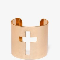 Cutout Cross Cuff | FOREVER 21 - 1034645809