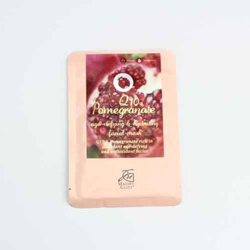 Hydrating Facial Mask - Pomegranate Q10