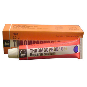 Thrombophob Gel Heparin Sodium For Bruises Thrombosis Clot Anticoagulant