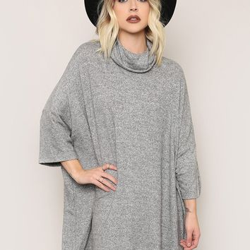 Seven Wonders Sweater - Gray - What's New at Gypsy Warrior