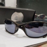 ESBON8Y Oakley Juliet, Carbon edition, Box and Coin included, X-Metal sunglasses