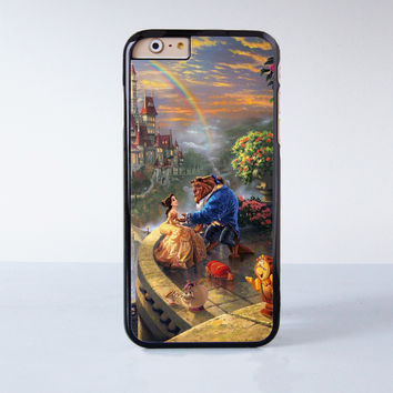 Beauty And Beast Plastic Case Cover for Apple iPhone 6S 6S Plus 6 6 Plus 4 4s 5 5s 5c