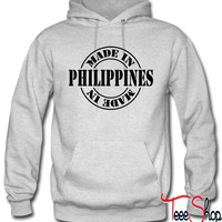 made in philippines m1 hoodie