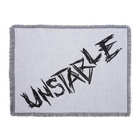 "Dean Ambrose ""Unstable"" Jacquard Throw Blanket"