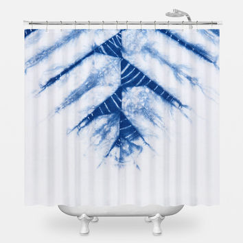 Crystallines Shower Curtain