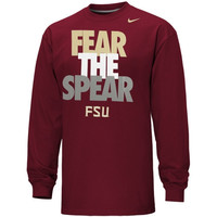 Nike Florida State Seminoles :FSU: Local Long Sleeve T-Shirt - Crimson