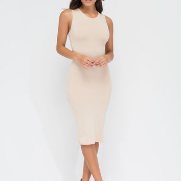 Not-So-Basic Babe Midi Dress GoJane.com