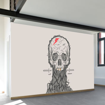Truth or Death Wall Mural