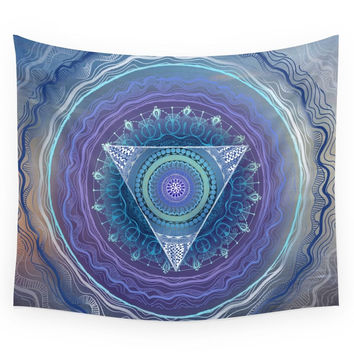 Society6 Ajna Third Eye Chakra Wall Tapestry