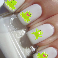Frog Nail Decals