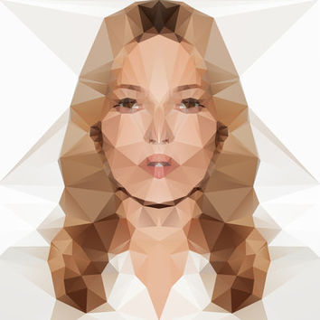 Kate Moss Art Print by Three of the Possessed | Society6