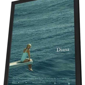 Diana 11x17 Framed Movie Poster (2013)