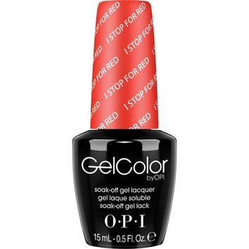OPI GelColor - I Stop For Red 0.5 oz - #GCA74