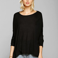 Corner Shop Drape Tee  - Urban Outfitters