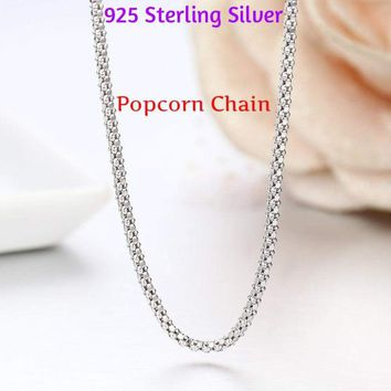 Joaillerie Sterling silver snake chain necklace 20 in Milor