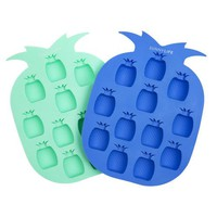 SUNNYLIFE - Pineapple Ice Tray | Green & Blue
