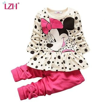 Children Clothing 2019 Autumn Spring Toddler Girls Clothes 2pcs Easter Outfit Kids Clothes Sport Suit For Girls Clothing Sets
