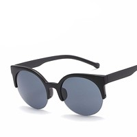 High Quality  Super Round Circle Sunglasses