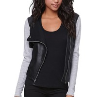 Fox Stunner Zip Jacket - Womens Hoodie - Black