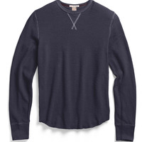 Slub Cotton Thermal in Indigo