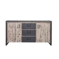 Bronx Contemporary Industrial Sideboard