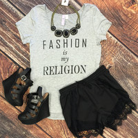 Fashion is My Religion Top