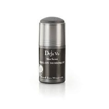 Deja Vu Cosmetics Dead Sea Minerals Mens Roll On Deodorant 3 oz