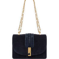 Altuzarra Ghianda Braided Chain Shoulder Bag, Blue