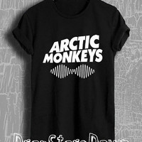 Arctic Monkeys Shirt Arctic Monkeys Tour Merch Tshirt Unisex Size T-Shirt