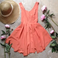 Smart Tangerine dress- sold out