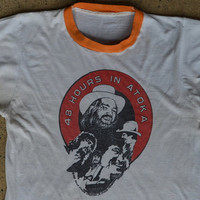 1970s '48 Hours In Atoka' Country Woodstock Waylon Jennings David Allan Coe Country Western Shirt