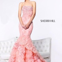 Sherri Hill Dress 21014 at Peaches Boutique