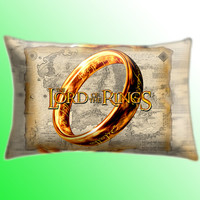 "Lord Of The Ring Cover Pillow Size 30"" x 20"""