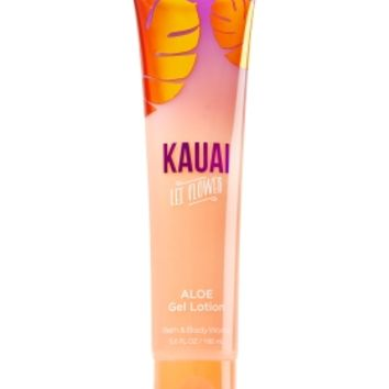 Aloe Gel Lotion Kauai Lei Flower