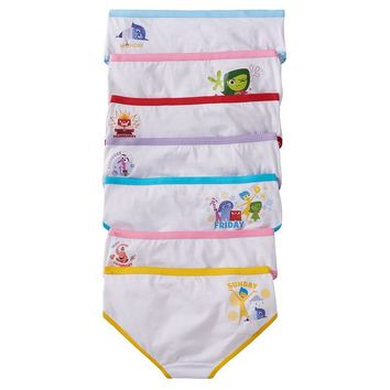 Disney / Pixar Inside Out 7-pk. Days of the Week Hipster Panties - Girls