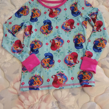 Nickelodeon Shimmer and Shine Shirt - Size - 4T