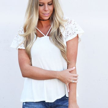 Feel Good Lace Tee
