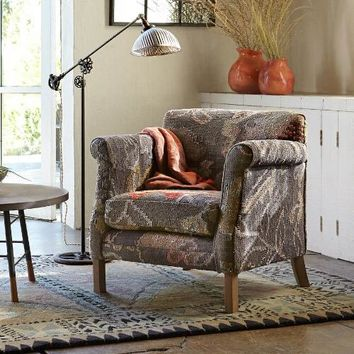 Moon Garden Kilim Chair