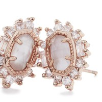 Kaia Vintage Stud Earrings in Silver | Kendra Scott Jewelry
