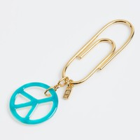 "AURÉLIE BIDERMANN FOR COLETTE ""Peace & Love"" Key ring"