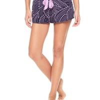 Regal Rainbow Star Rayon Voile Rainbow Stars Short by Juicy Couture,