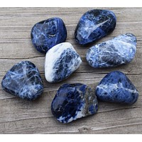 SODALITE Mental Clarity Stone - Balance Energy, Calm Conflict & Open Your Third Eye