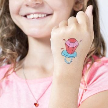 Candy Bling (Scented) by Julia Rothman from Tattly Temporary Tattoos
