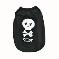 "Dog Shirt... ""Killer"" Can also be used by Cats"