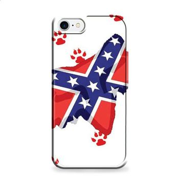 Fox Racing confederate iPhone 7 | iPhone 7 Plus case