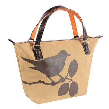 Julie Tote with Bird Design - Scratch, Dent and Closeout